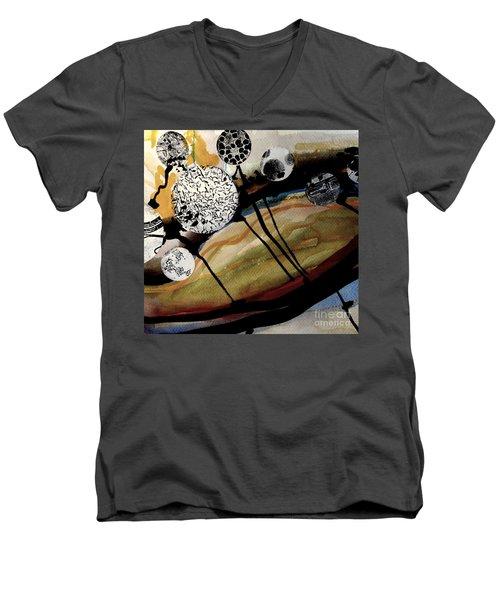 Abstract-23 Men's V-Neck T-Shirt