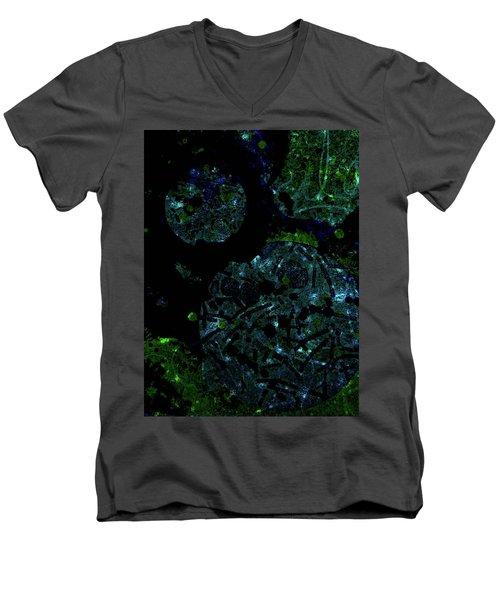 Abstract-32 Men's V-Neck T-Shirt
