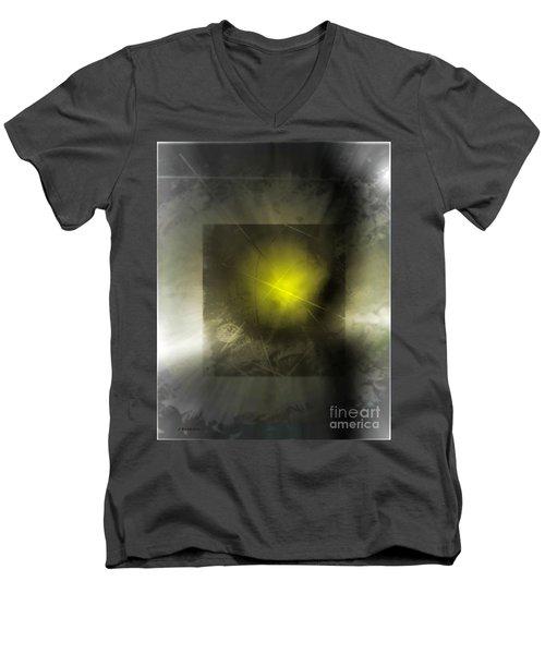 Abstract 533-2016 Men's V-Neck T-Shirt