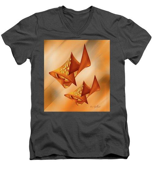 Abstract #57 Men's V-Neck T-Shirt