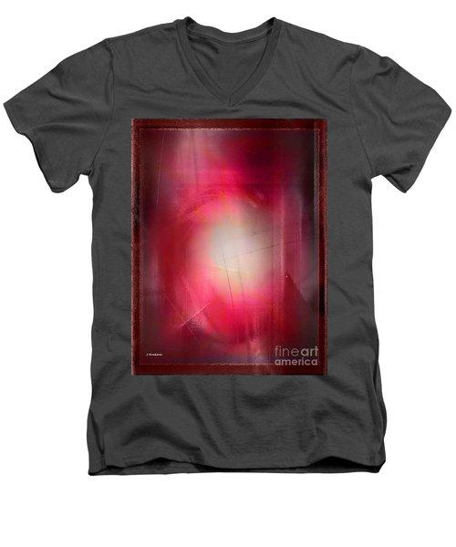 Abstract 707-2015 Men's V-Neck T-Shirt by John Krakora
