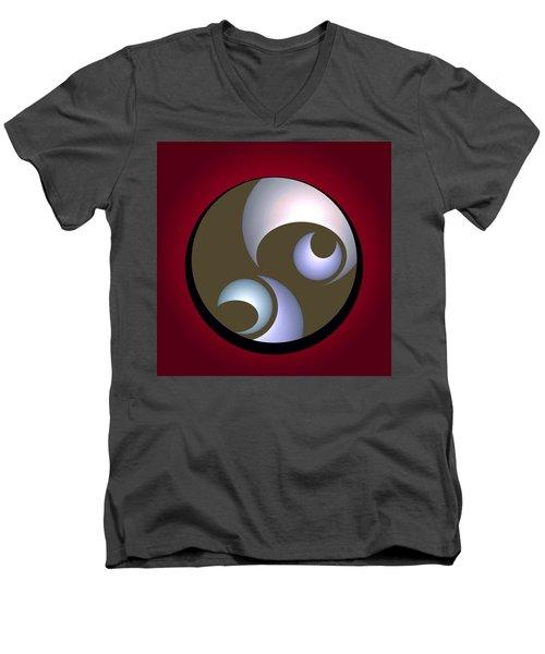 Abstract 8 2017 Men's V-Neck T-Shirt