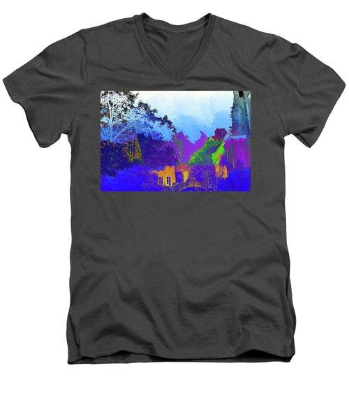 Abstract  Images Of Urban Landscape Series #8 Men's V-Neck T-Shirt