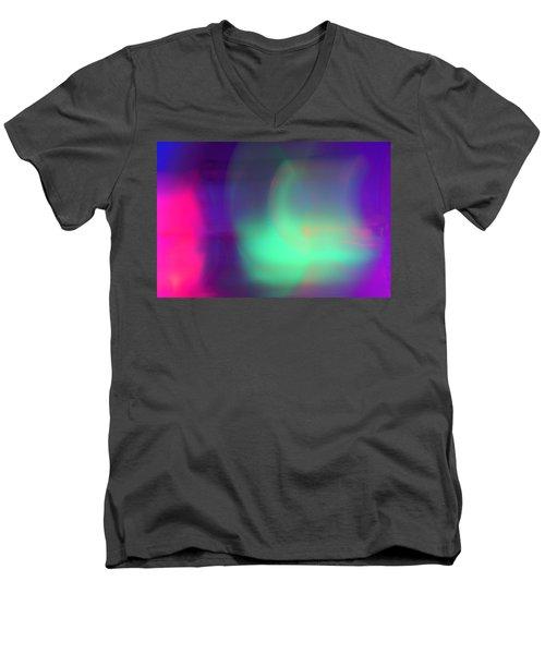 Abstract No. 1 Men's V-Neck T-Shirt