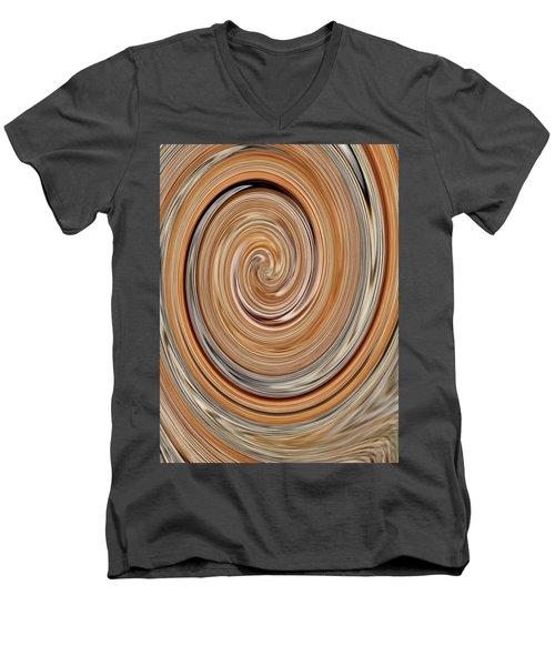 Abstract No. 34-3 Men's V-Neck T-Shirt