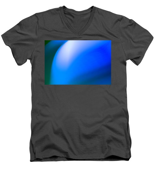 Abstract No. 7 Men's V-Neck T-Shirt