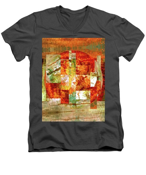 Abstract No. 79-1 Men's V-Neck T-Shirt