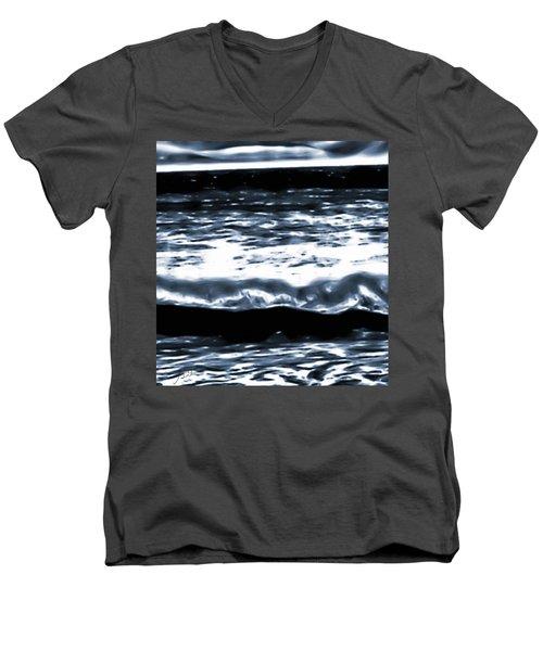 Abstract Ocean Men's V-Neck T-Shirt