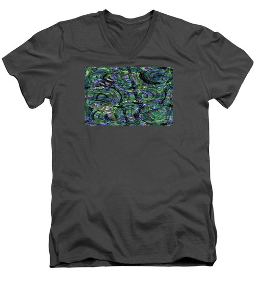 Abstract Pattern 5 Men's V-Neck T-Shirt