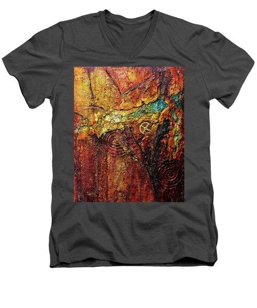 Abstract Rock 2 Men's V-Neck T-Shirt