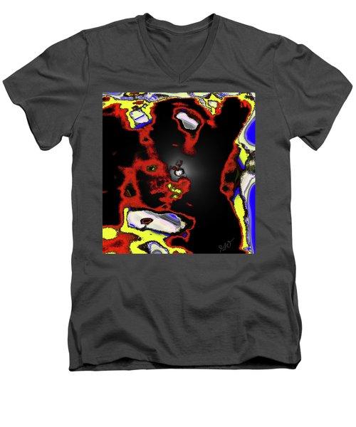 Abstract Shell Creature Men's V-Neck T-Shirt by Gina O'Brien