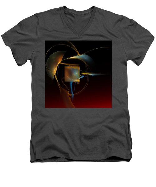 Abstract Still Life 012211 Men's V-Neck T-Shirt