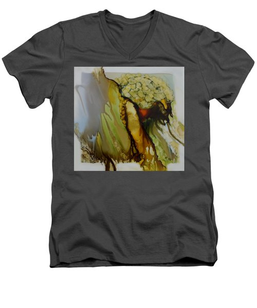 Abstract X Men's V-Neck T-Shirt