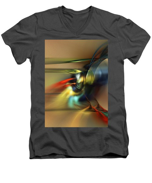 Abstraction 022023 Men's V-Neck T-Shirt