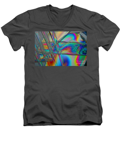 Abstraction In Color 2 Men's V-Neck T-Shirt