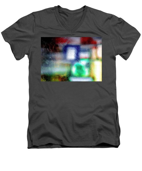 Abstraction  Men's V-Neck T-Shirt