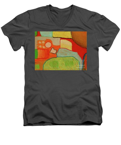 Abstraction123 Men's V-Neck T-Shirt