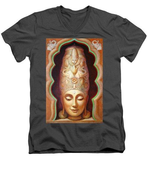 Abundance Meditation Men's V-Neck T-Shirt