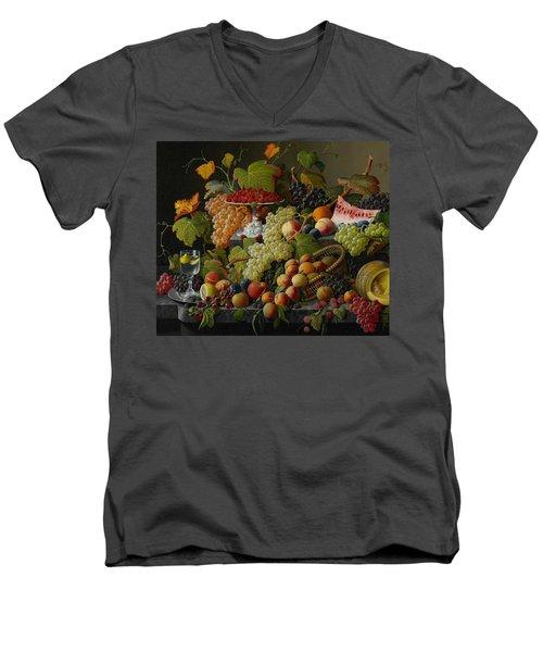 Abundant Fruit Men's V-Neck T-Shirt