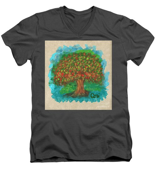Abundant Tree Men's V-Neck T-Shirt