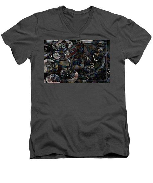 Accounting Grind Men's V-Neck T-Shirt