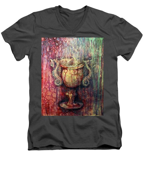 Ace Of Cups Men's V-Neck T-Shirt