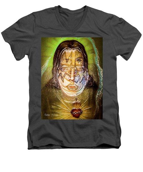 Acejesus Men's V-Neck T-Shirt