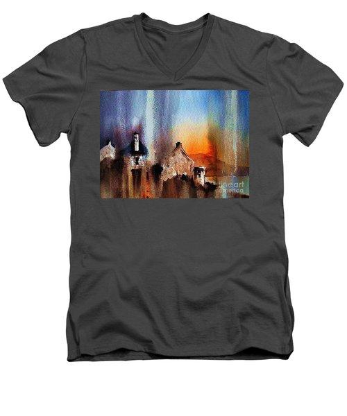Achill Arora Men's V-Neck T-Shirt