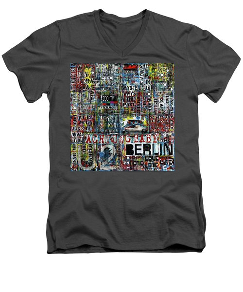 Achtung Baby Men's V-Neck T-Shirt