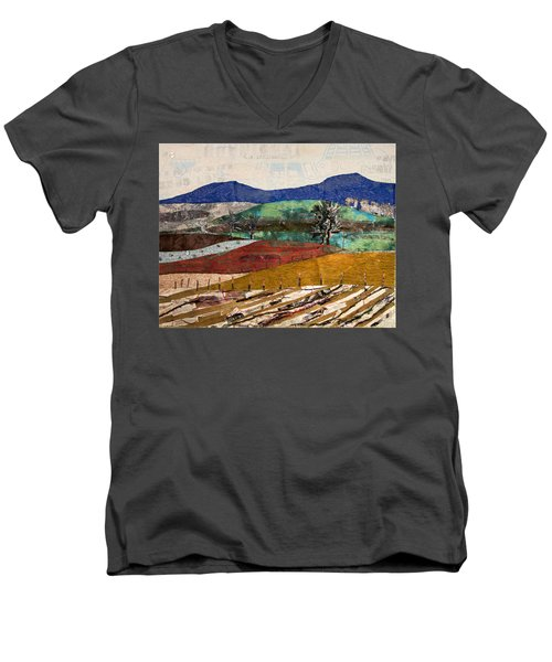 Across The Meadow Men's V-Neck T-Shirt