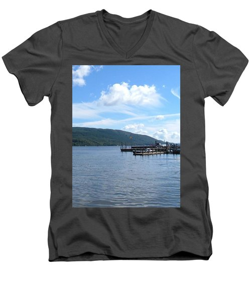 Across The Water Men's V-Neck T-Shirt