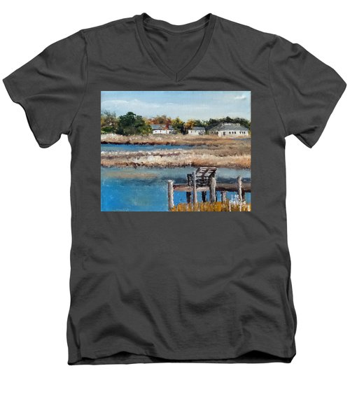 Across The White Oak Men's V-Neck T-Shirt