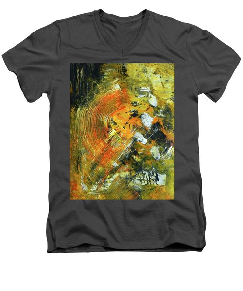 Addicted To Chaos Men's V-Neck T-Shirt by Everette McMahan jr