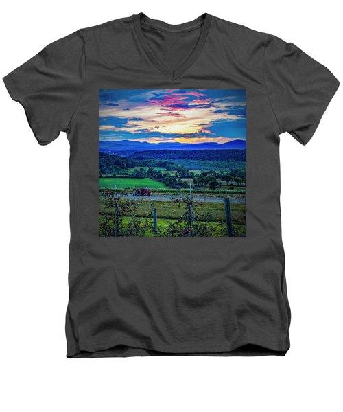 Adirondack Country Men's V-Neck T-Shirt
