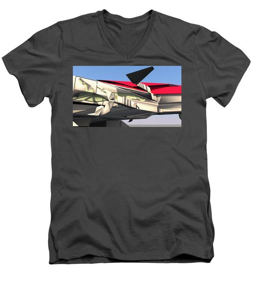 Adjustment Men's V-Neck T-Shirt