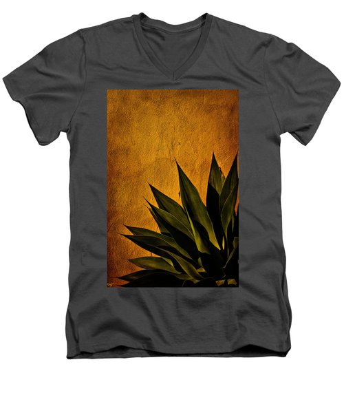 Adobe And Agave At Sundown Men's V-Neck T-Shirt