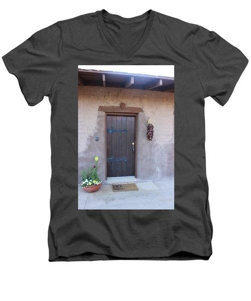 Adobe Door Men's V-Neck T-Shirt