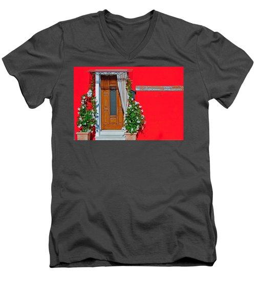 A-door-ned Men's V-Neck T-Shirt
