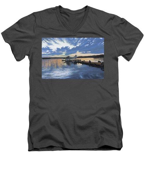 Adventure Awaits Men's V-Neck T-Shirt