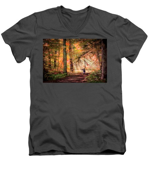 Adventure Men's V-Neck T-Shirt