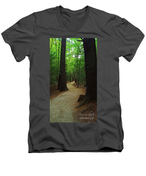 Adventures Men's V-Neck T-Shirt