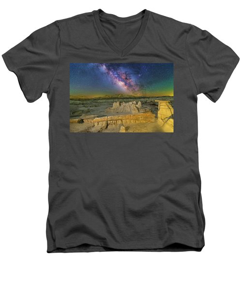 Aeons Of Time Men's V-Neck T-Shirt