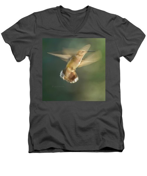 Aerial Dancing.... Men's V-Neck T-Shirt