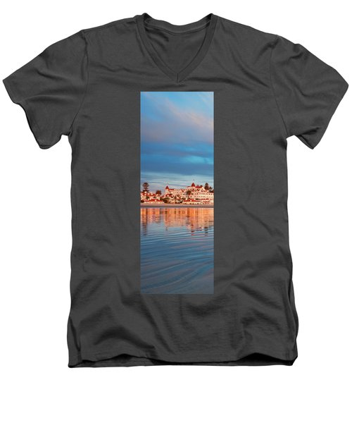 Afloat Panel 2 20x Men's V-Neck T-Shirt