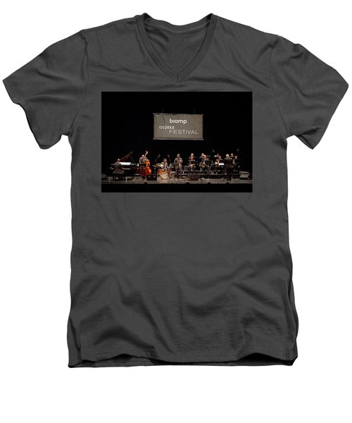 Africa Brass 3 Men's V-Neck T-Shirt