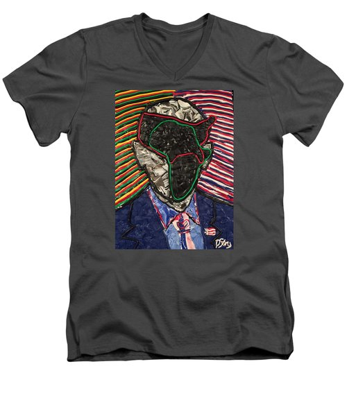 African American History Men's V-Neck T-Shirt
