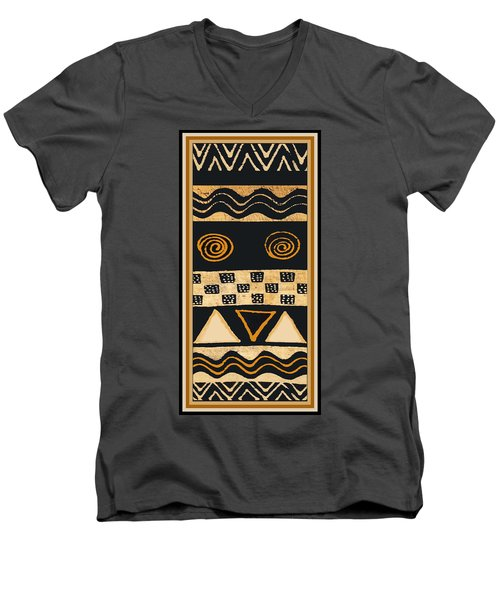 African Memories Men's V-Neck T-Shirt