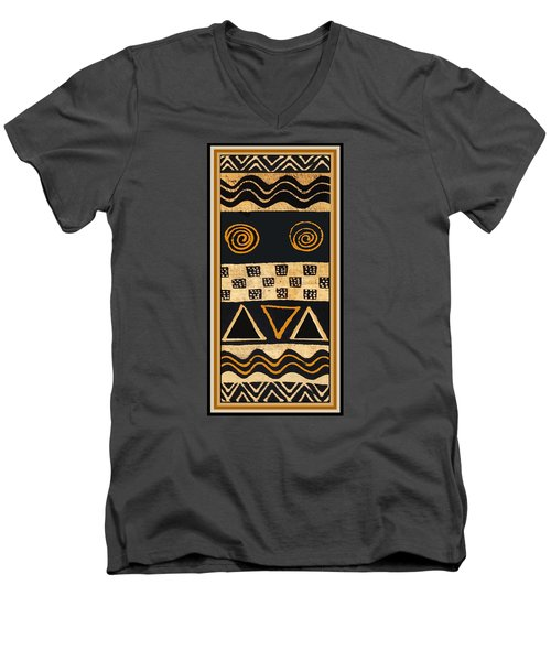 African Primordial Spirits - 2 Men's V-Neck T-Shirt