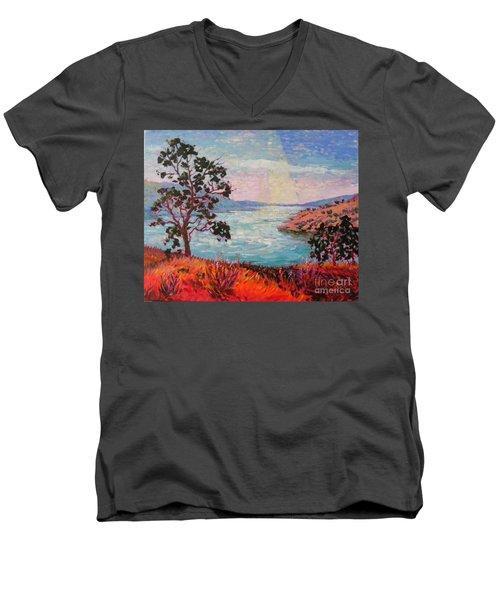 After Sunrise Men's V-Neck T-Shirt