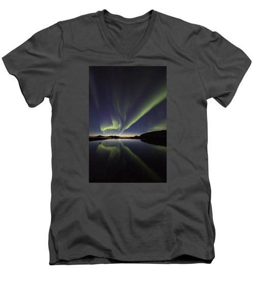 After Sunset I Men's V-Neck T-Shirt